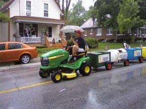 The train tractor!
